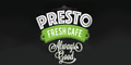 Presto Fresh Cafe Menu