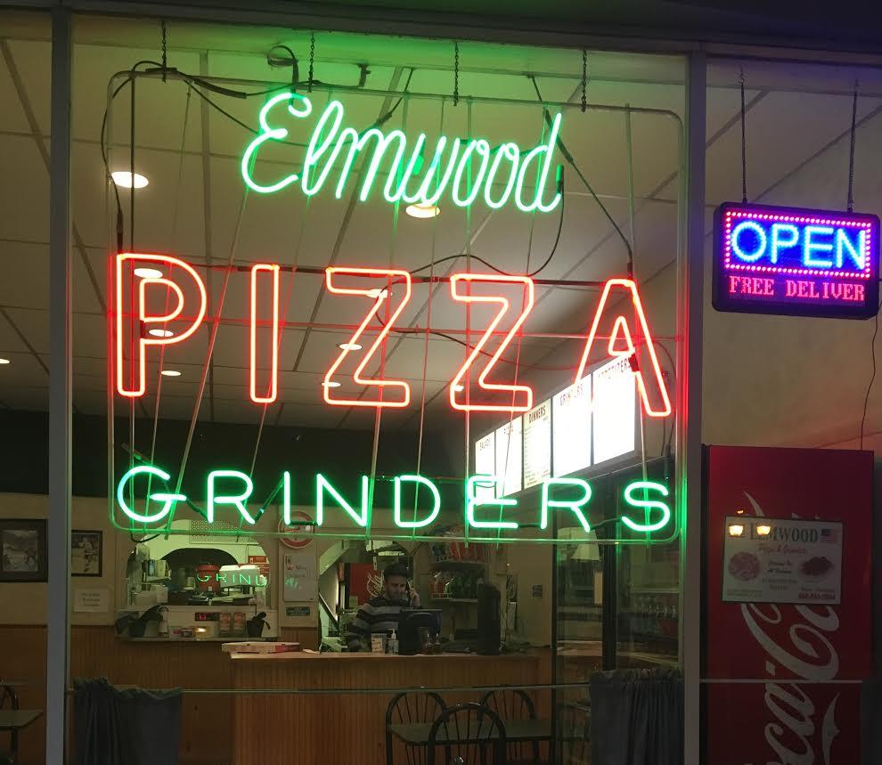 Elmwood Pizza & Grinders Menu