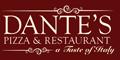 Dante's Pizzeria and Restaurant Menu