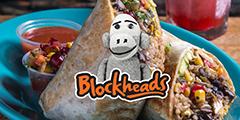 Blockheads Burritos Menu