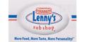 Lenny's Sub Shop Menu