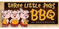 Three Little Pigs BBQ Menu