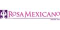 Rosa Mexicano Menu