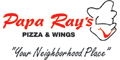 Papa Ray's Pizza & Wings menu and coupons