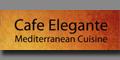 Cafe Elegante Menu