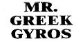 Mr. Greek Gyros Menu