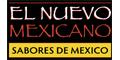 El Nuevo Mexicano Menu