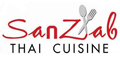 Sanzab Thai menu and coupons