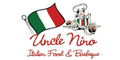 Uncle Nino's menu and coupons