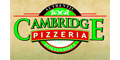 Cambridge Pizzeria Menu