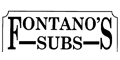 Fontano's Subs menu and coupons