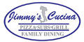 Jimmy's Cucina Menu