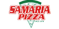 Samaria Pizza Menu