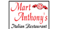 Mart Anthony's Italian Restaurant menu and coupons