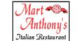 Mart Anthony's Italian Restaurant Menu