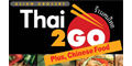 Thai 2 Go menu and coupons