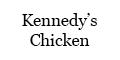 Kennedy's Chicken Menu