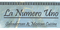 La Numero Uno menu and coupons