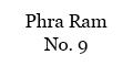 Phra Ram No. 9 Menu