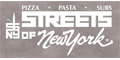 Streets of New York #15 Menu