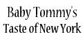 Baby Tommy's Taste of New York Pizza Menu