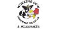Working Cow Ice Cream Menu