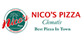 Nico's Pizza Menu