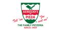 Aurelio's Pizza Menu
