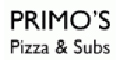 Primo's Pizza & Subs Menu
