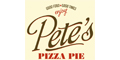 Pete's Pizza menu and coupons