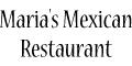 Maria's Mexican Restaurant Menu