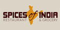 Spices of India Menu