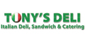 Tony's Deli menu and coupons