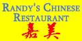 Randy's Chinese Restaurant Menu