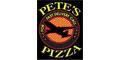 Pete's Pizza 3 Menu