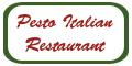 Pesto Italian Restaurant Menu