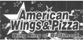 American Wings & Pizza Menu
