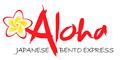Aloha Japanese Bento Express Menu