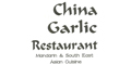 China Garlic menu and coupons