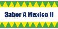 Sabor A Mexico II Menu