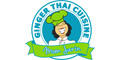 Ginger Thai Cuisine Menu