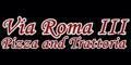 Via Roma III Menu