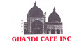 Ghandi Cafe Menu