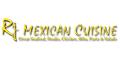 RJ Mexican Cuisine Menu