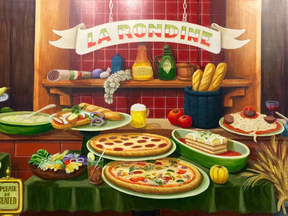 La Rondine Pizza and Restaurant Menu