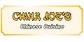 China Joe's Menu