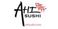Ahi Sushi Menu