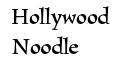 Hollywood Noodle menu and coupons