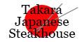 Takara Japanese Steakhouse Menu
