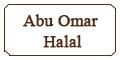 Abu Omar Halal Menu